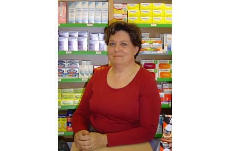 Marie-Claire Ducellier, pharmacienne