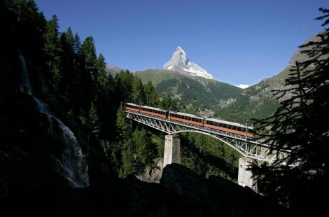 Le train du Gornergrat