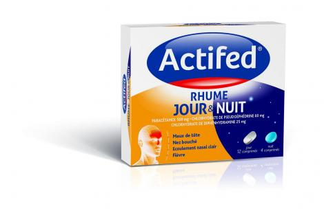 actifed jour & nuit