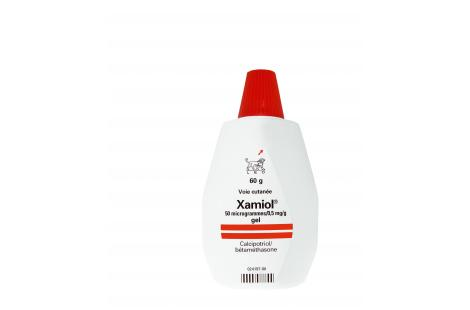 Xamiol 50 µg/0,5 mg/g - 1