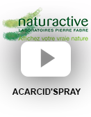 Spray : ACARCID'spray (vidéo)